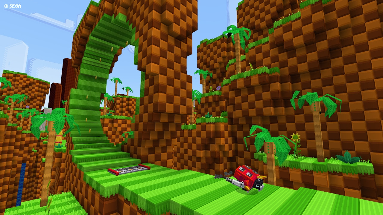 Minecraft Sonic the Hedgehog DLC Arrives to Celebrate 30th Year