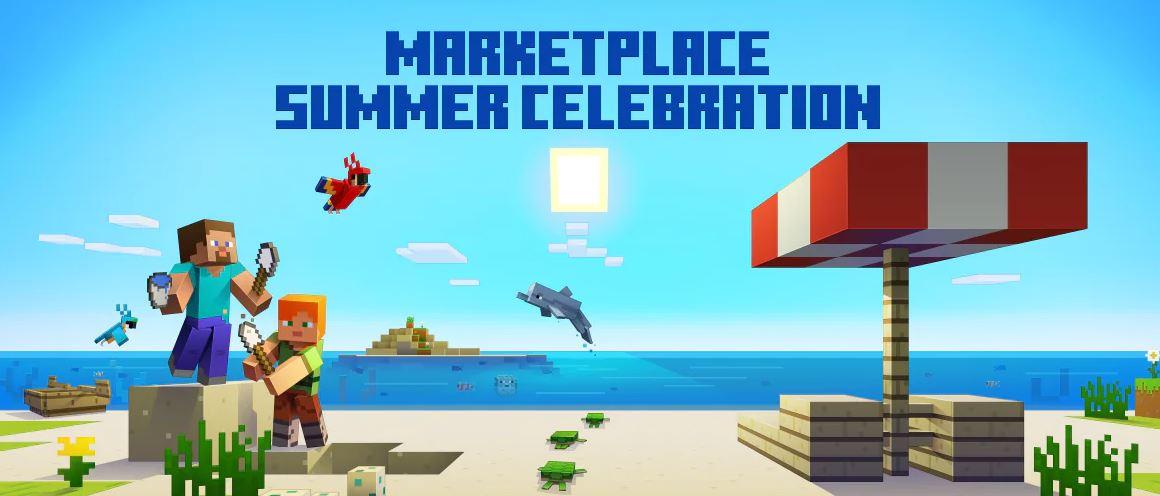 Minecraft Marketplace Summer Celebration Offers Big Deals, Free Content