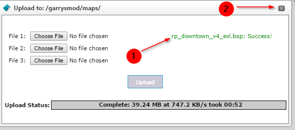 How to upload maps to your server - Knowledgebase